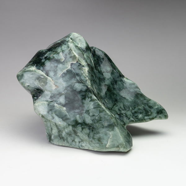 Polished Green Jade Freeform from Pakistan (26 lbs)