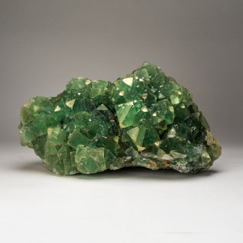 Genuine Green Fluorite Cluster from Nambia (44.5 lbs)