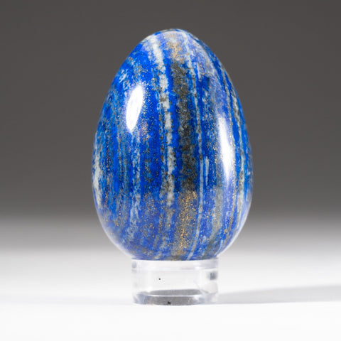 Polished Lapis Lazuli Egg from Afghanistan (282.4 grams)