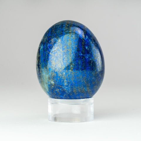 Polished Lapis Lazuli Egg from Afghanistan (79.3 grams)