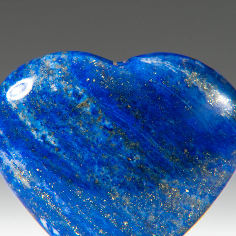 Polished Lapis Lazuli Heart from Afghanistan (28 grams)