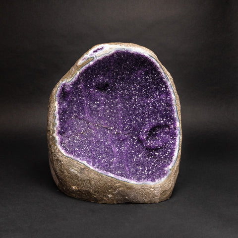 Large Amethyst Clustered Geode From Uruguay (52 lbs)
