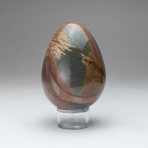 Polished Polychrome Egg from Madagascar (2 lbs)