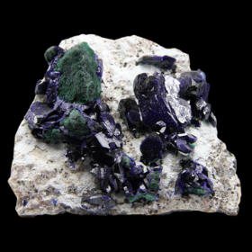Azurite From Milpillas Mine, Cuitaca, Sonora, Mexico (374.3 grams)