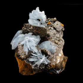 Barite From Jebel Ouichane, Beni Bou Ifrour, Nador, Nador Province, Oriental Region, Morocco