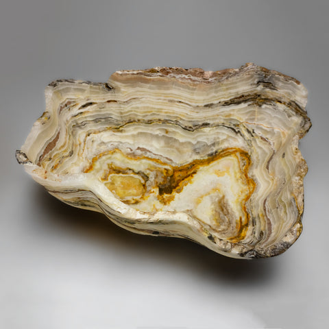 Natural Onyx Bowl From Mexico (27.5 lbs)