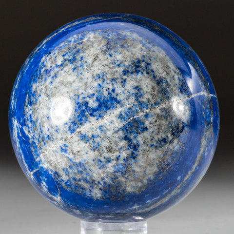 "Polished Lapis Lazuli Sphere from Afghanistan (3"", 1.8 lbs)"