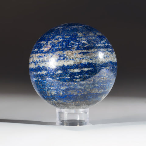 "Polished Lapis Lazuli Sphere from Afghanistan (2.5"", 1.2 lbs)"