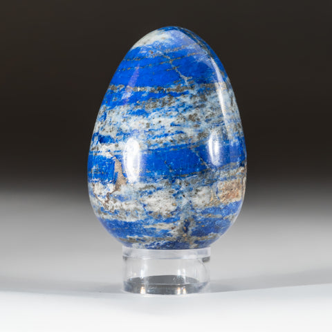 Polished Lapis Lazuli Egg from Afghanistan (213 grams)