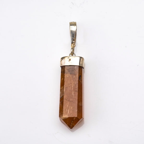 Orange Garnet Crystal Pendant (5 grams)