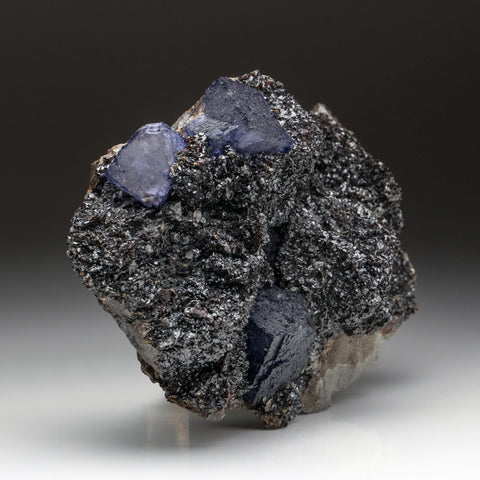 Purple Fluorite from Elmwood Mine, Carthage, Smith County, Tennessee (5.5 lbs)