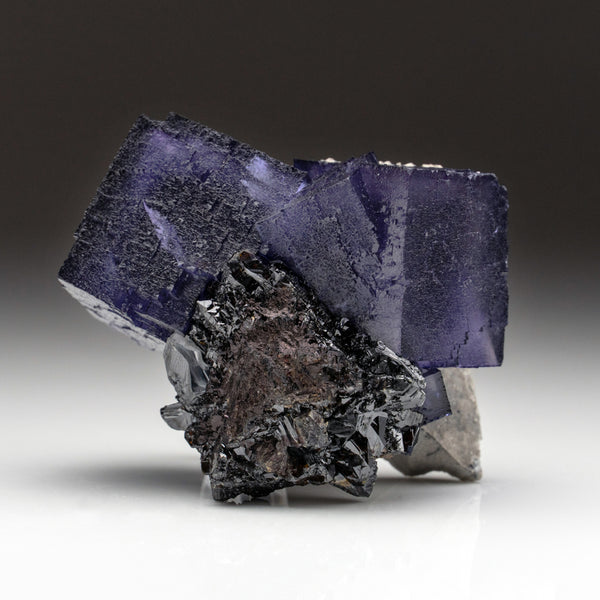 Purple Fluorite from Elmwood Mine, Carthage, Smith County, Tennessee (522.8 grams)