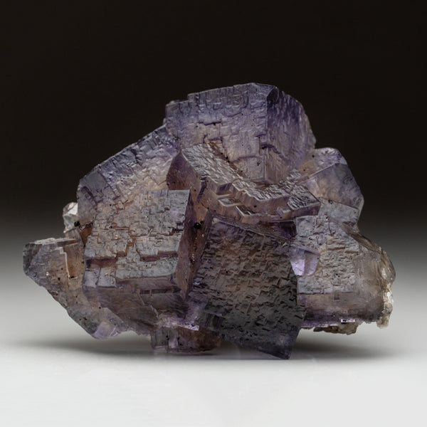 Purple Fluorite from Elmwood Mine, Carthage, Smith County, Tennessee (1.7 lbs)