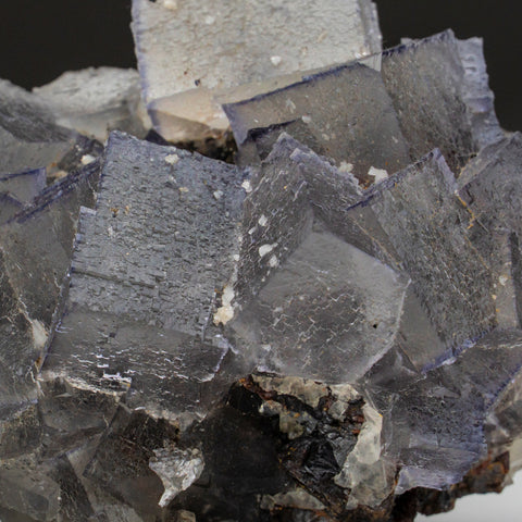 Purple Fluorite from Elmwood Mine, Carthage, Smith County, Tennessee (601.3 grams)
