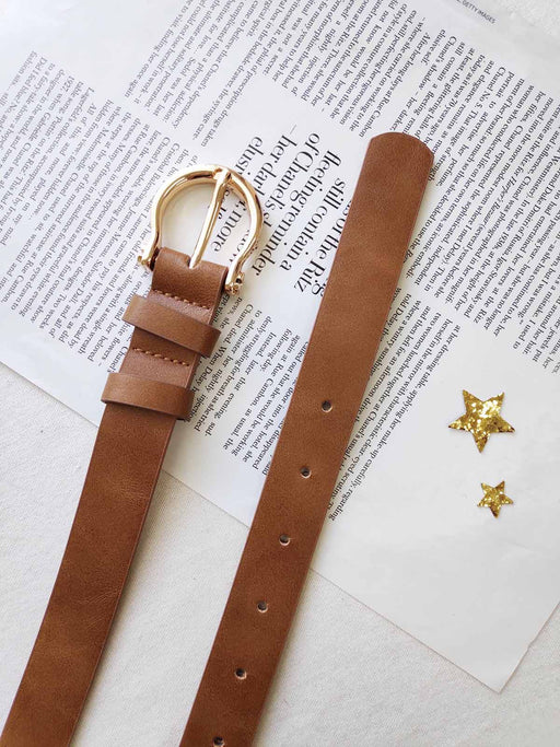 Rue Saint Honore Belt - Tan