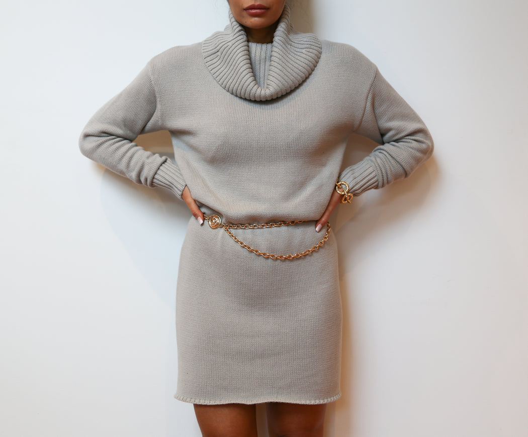 Seraphina Dress - Grey