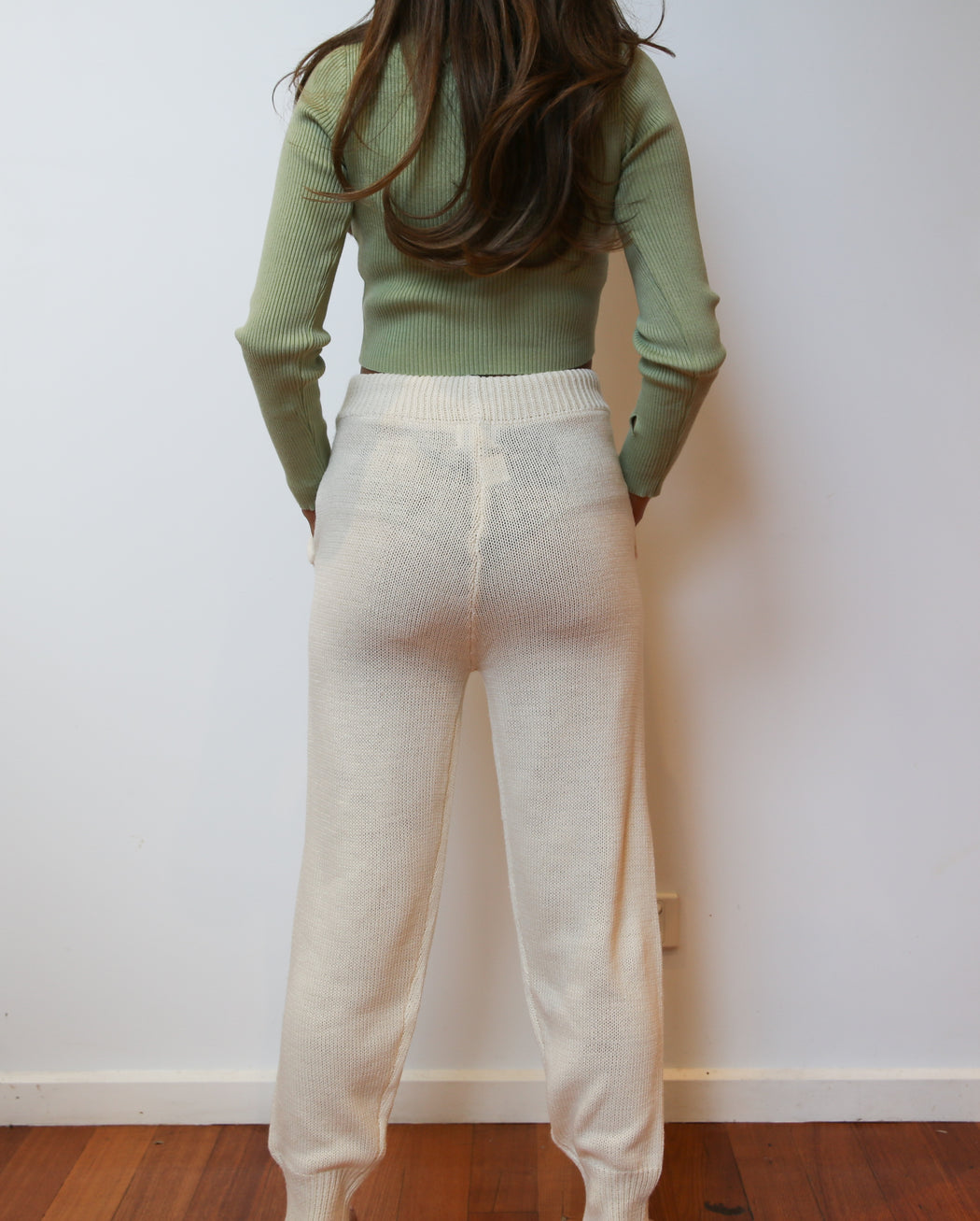 Lodge Knit Pants - Ivory
