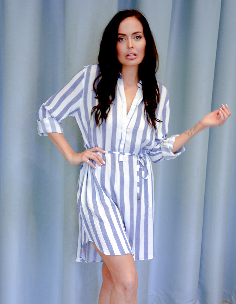 Poolside Shirt Dress