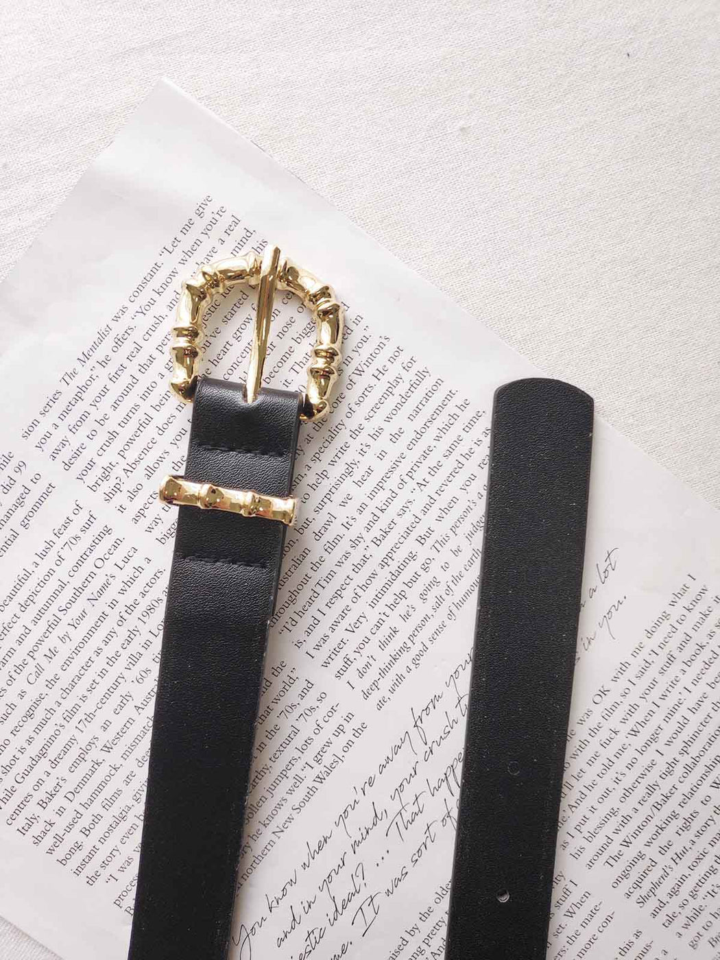 Riviera Belt - Black