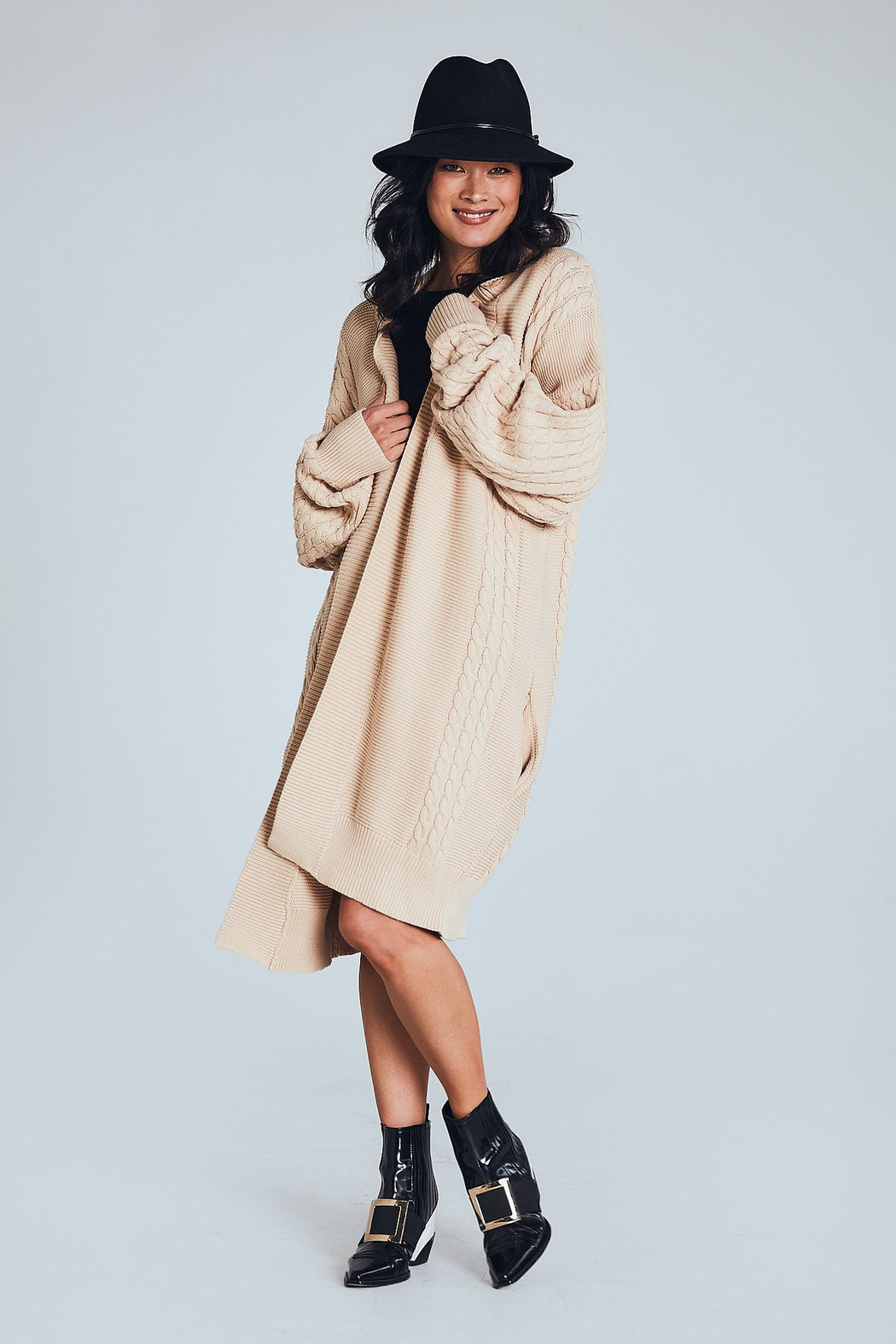 Elodie Knit - Washed Sand