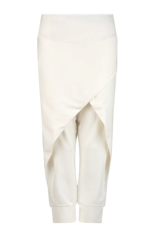 Charli Lightweight Crossover Pants - White