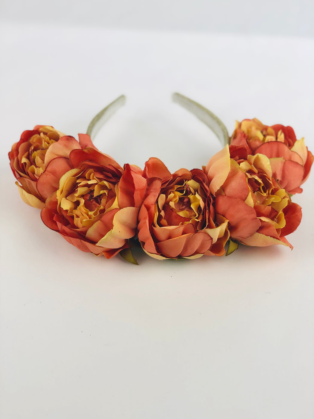 Floral Crown - Orange