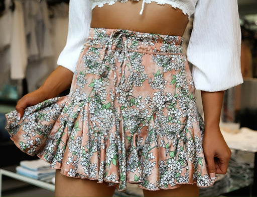 Blossomed Mini Skirt