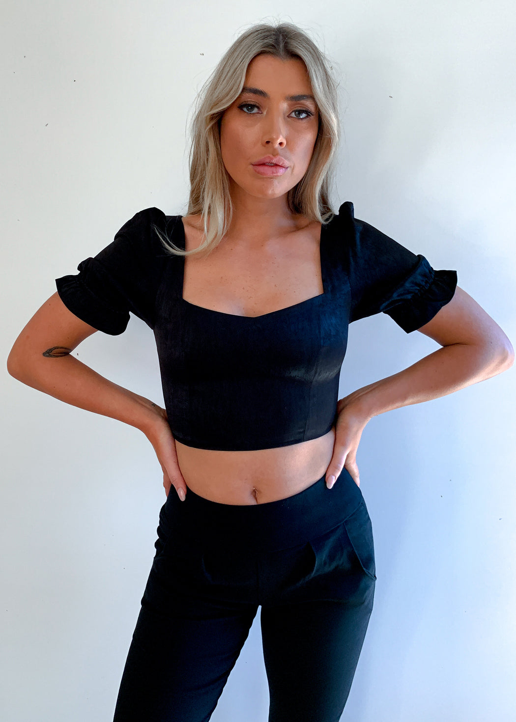 Sweetpea Top - Black
