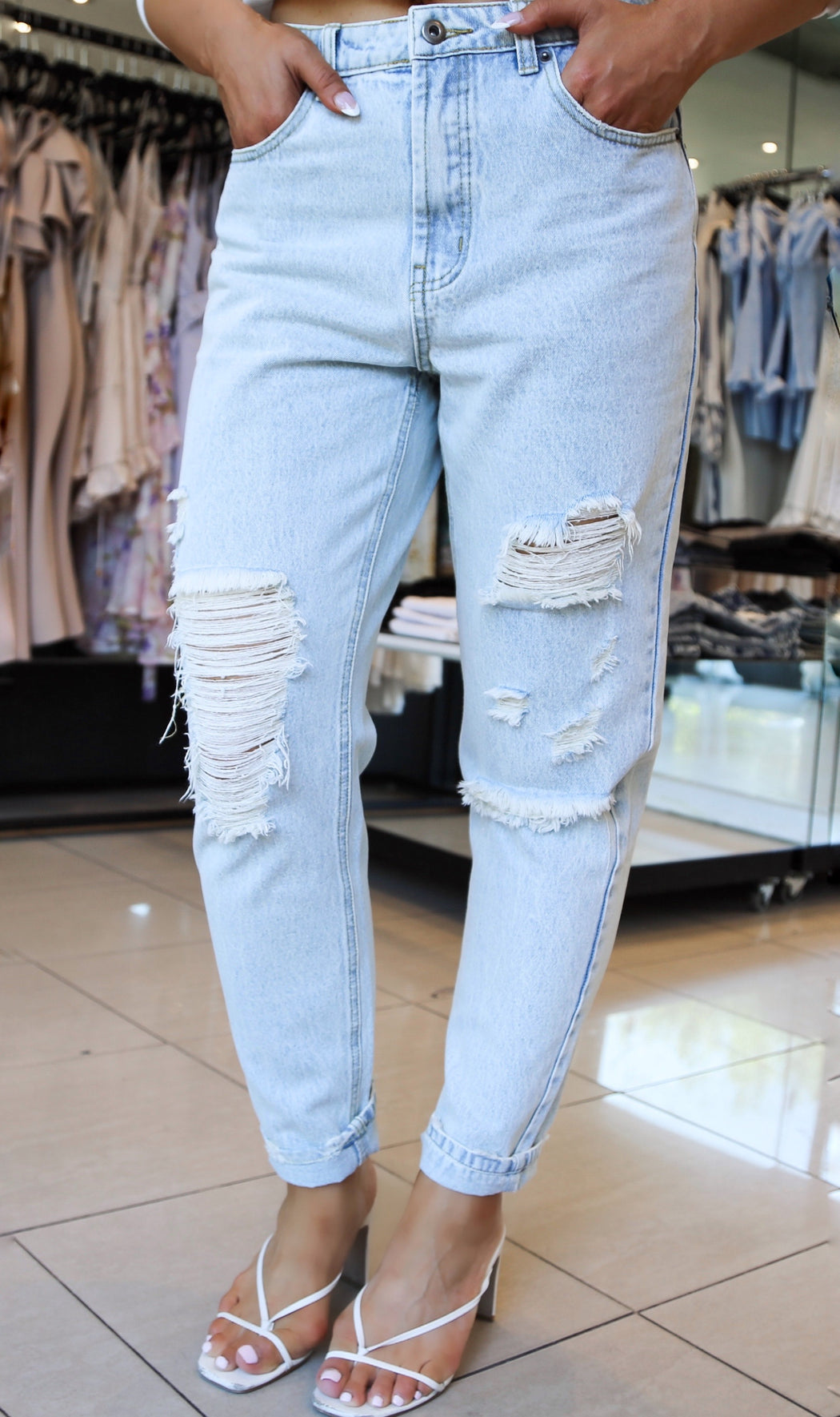 Other Side Distressed Jeans