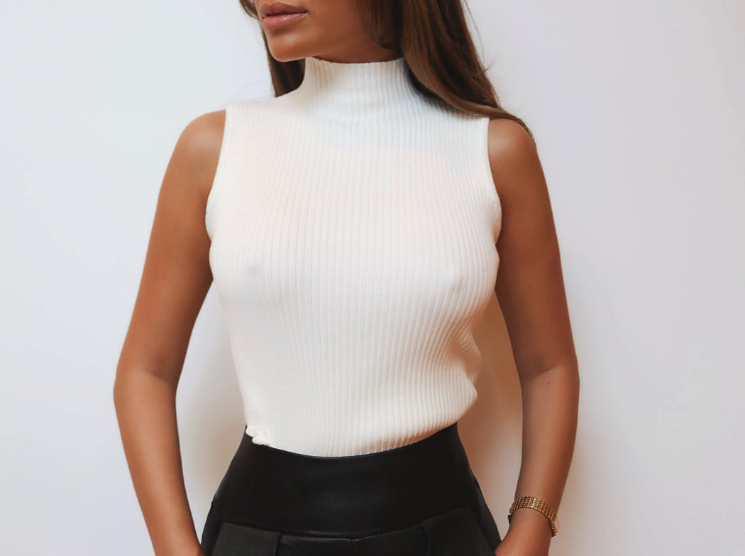 High Street Top - White