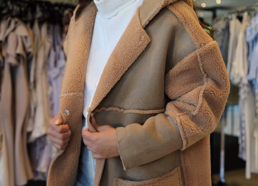 Banff Coat- Caramel