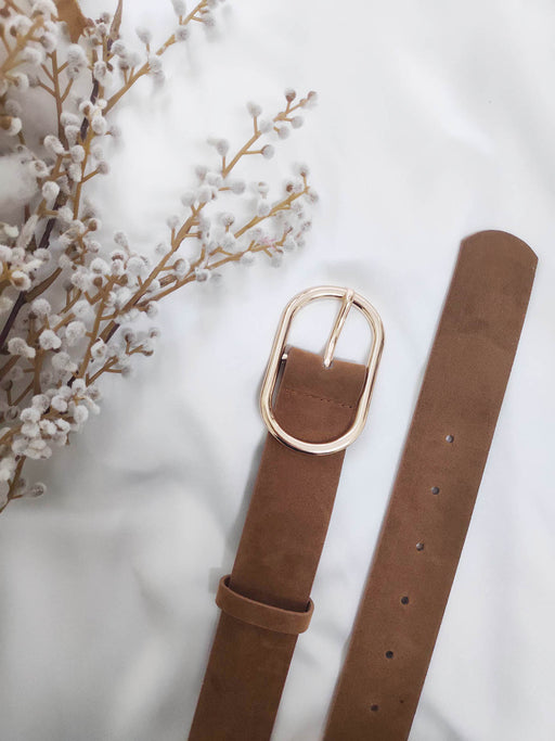 Chicago West Belt - Tan