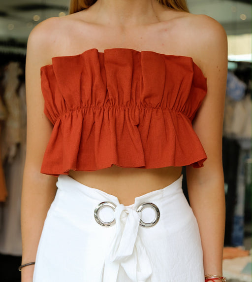 Float Ruffle Top