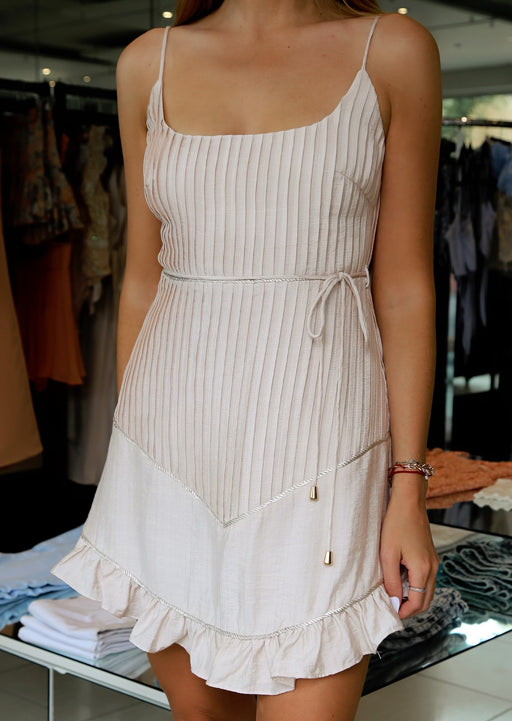 Blush Ripple Dress