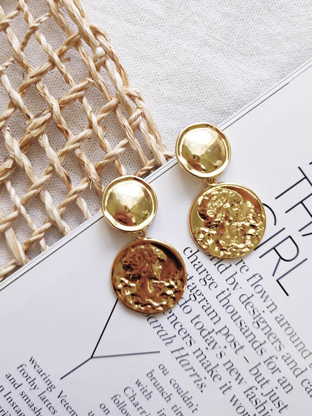 Tuscan Gold Earrings