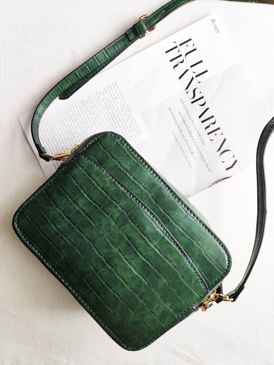 Manhattan Emerald Square Bag
