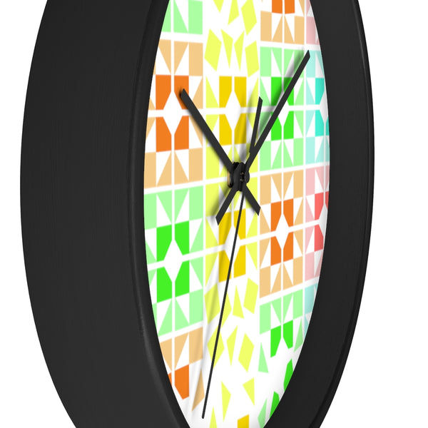 Brighten My Day Quilted Wall clock