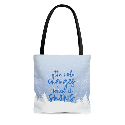 World Changes Tote Bag
