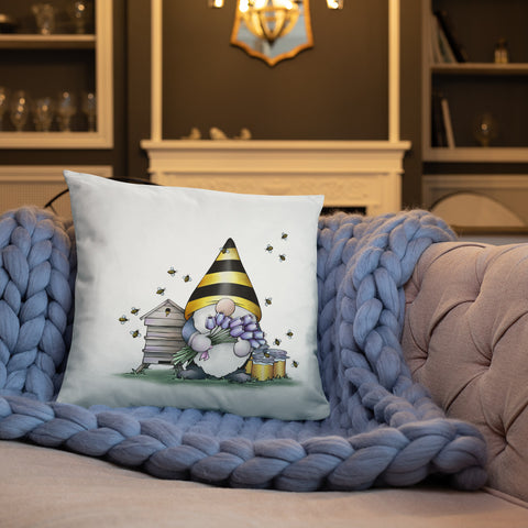 Gnome Bee Pillow