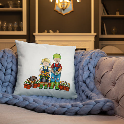 Emma and Caleb Pillow