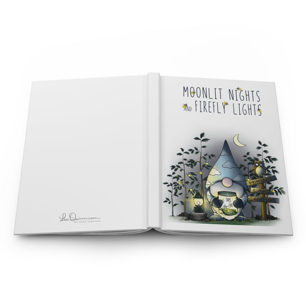 Gnome Fireflies Journal - Ruled