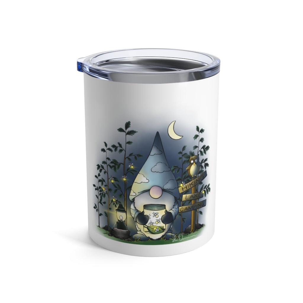 Gnome Fireflies Travel Mug 10oz
