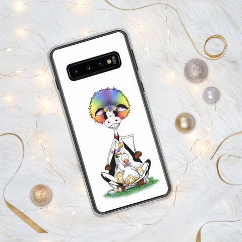 Silly Cow and Duck Samsung Case
