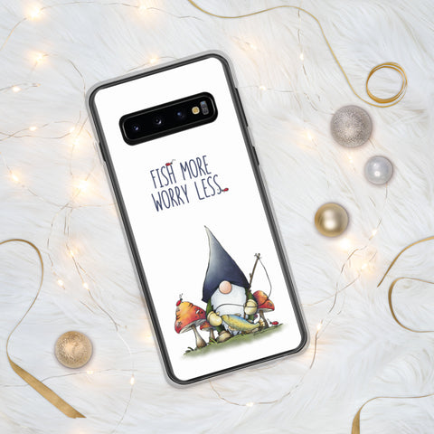 Gnome Fishing Samsung Case