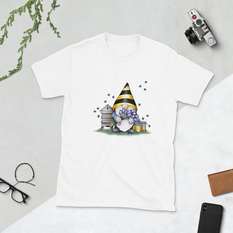 Gnome Bee Adult T-Shirt