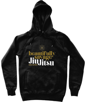 Unisex Beautifully Savage - Hoodie
