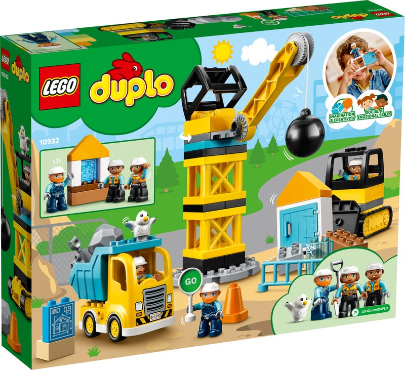 LEGO® DUPLO® Construction Wrecking Ball Demolition 10932 - available instore / click and collect only