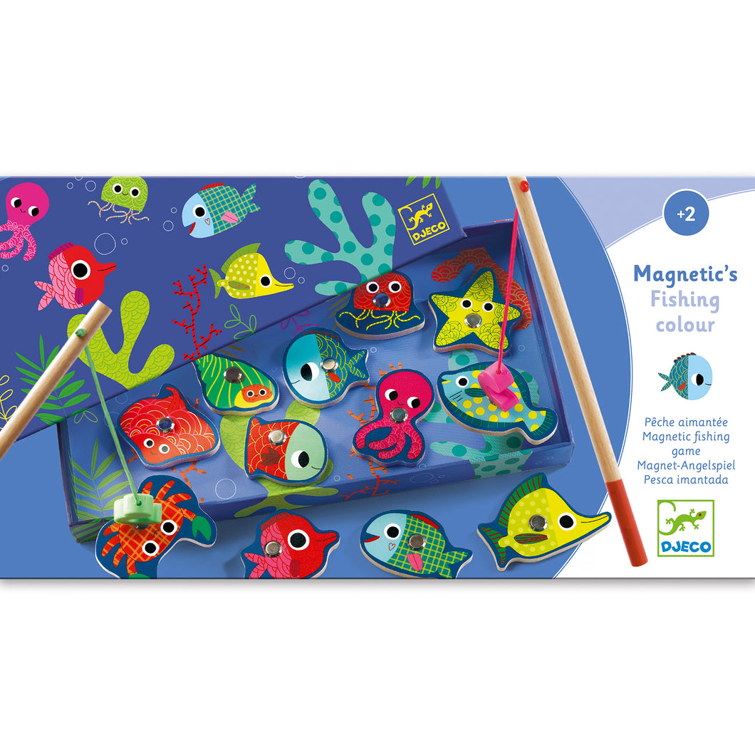 Djeco Magnetic Fishing - Fishing Colour