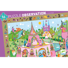 Load image into Gallery viewer, Djeco Observation Puzzle Princesses