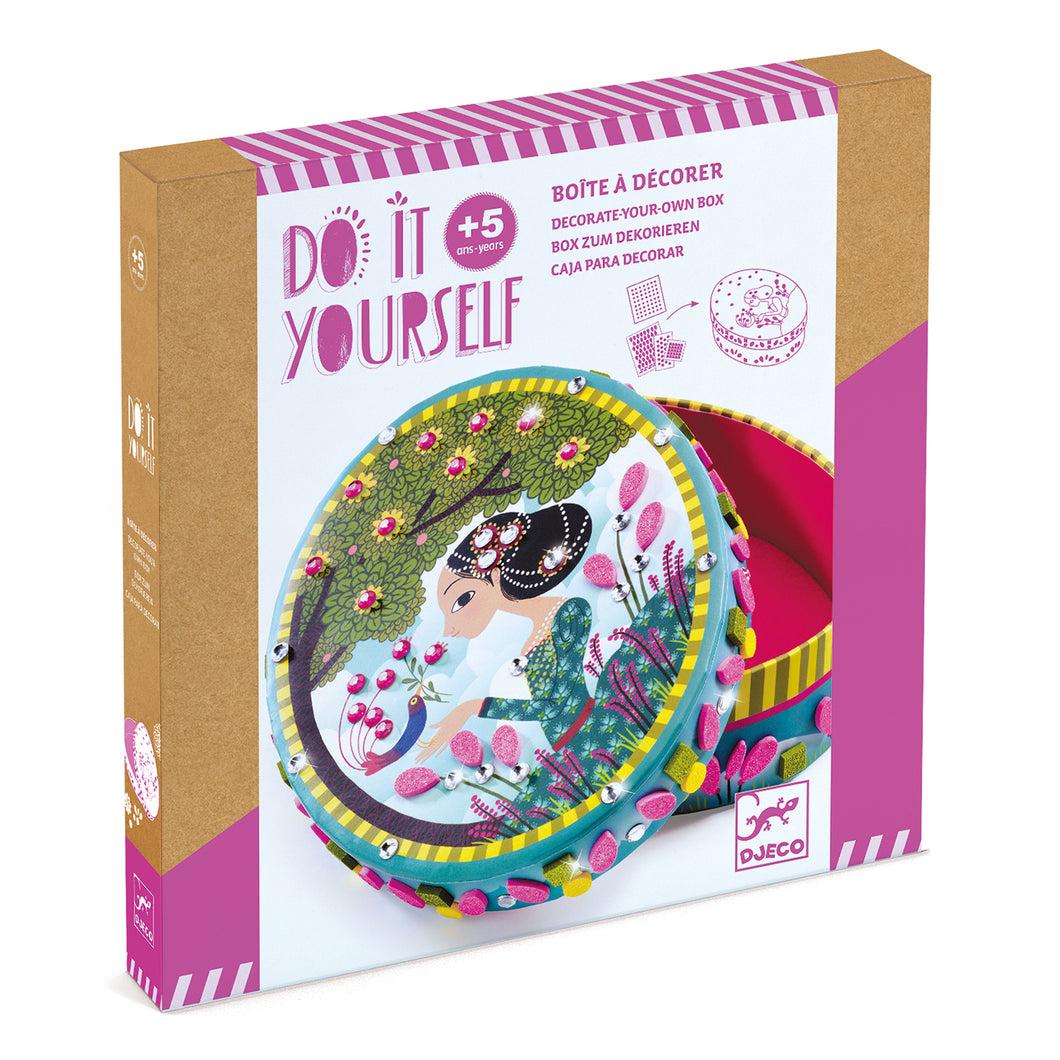 Djeco DIY Decorate Your Own Box